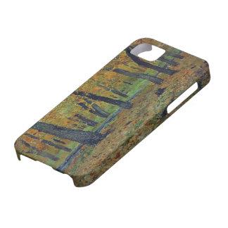 Arboleda del roble de Isaac Levitan-. Otoño iPhone 5 Fundas