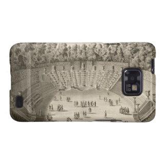 Arboleda del Salle du Bal, Versalles, de 'Les P Galaxy SII Carcasas