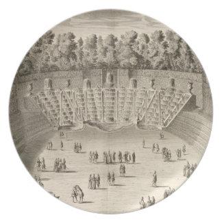 Arboleda del Salle du Bal, Versalles, de 'Les P Plato De Comida