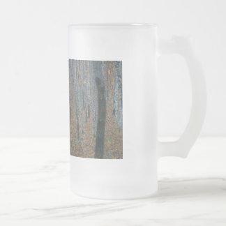 Arboleda I de la haya de Gustavo Klimt Tazas De Café