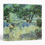 Arboleda verde oliva de Van Gogh