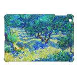 Arboleda verde oliva de Vincent van Gogh iPad Mini Coberturas