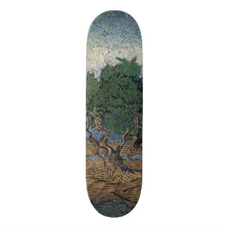 Arboleda verde oliva de Vincent van Gogh Patín