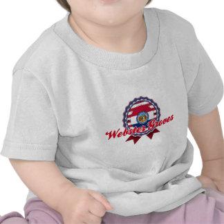 Arboledas de Webster MES Camiseta