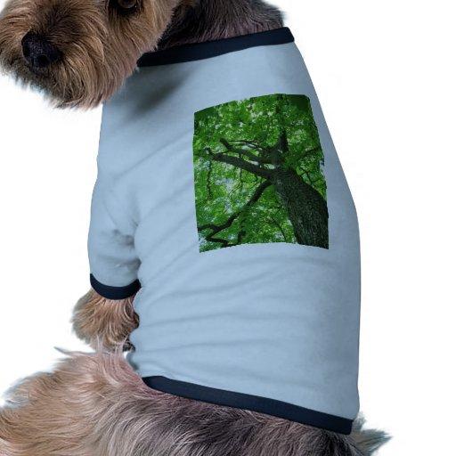 Árboles Camiseta De Perro