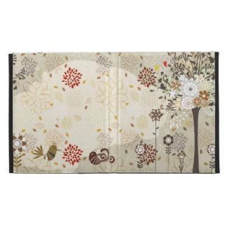 Árboles caprichosos, flores + caso de la cubierta