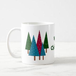 Árboles caprichosos taza de café