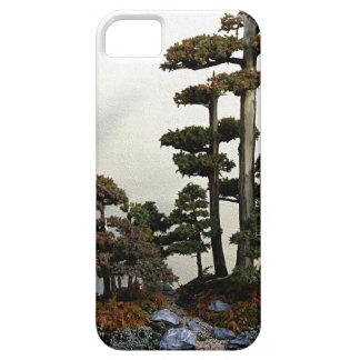 Árboles chinos de los bonsais del enebro iPhone 5 funda