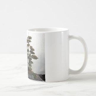 Árboles chinos de los bonsais del enebro taza