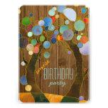 Árboles coloridos + Fiesta de cumpleaños de la sor Comunicado