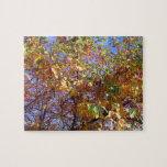 Árboles cromáticos puzzle con fotos