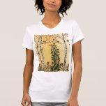 Árboles de abedul camiseta