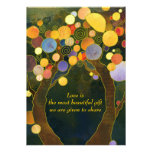Árboles de amor que casan las invitaciones (parte  invitacion personal