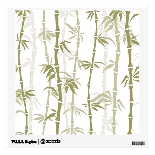Árboles de bambú modernos