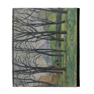 Árboles de castaña en Jas de Bouffan, c.1885-86