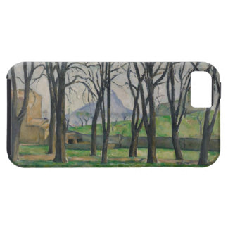 Árboles de castaña en Jas de Bouffan, c.1885-86 iPhone 5 Coberturas
