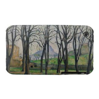 Árboles de castaña en Jas de Bouffan, c.1885-86 iPhone 3 Funda