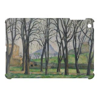 Árboles de castaña en Jas de Bouffan, c.1885-86 iPad Mini Funda