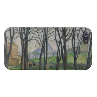 Árboles de castaña en Jas de Bouffan, c.1885-86 iPhone 5 Protectores