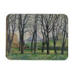 Árboles de castaña en Jas de Bouffan, c.1885-86 Imanes De Vinilo
