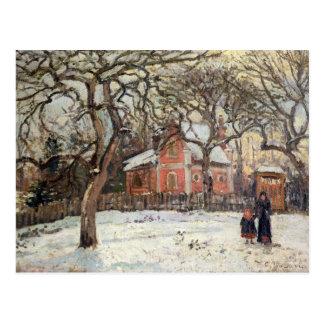 Árboles de castaña en Louveciennes, c.1871-2 Tarjetas Postales