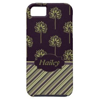 Árboles de ciruelo iPhone 5 carcasas