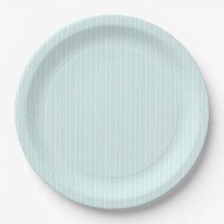 Árboles de corteza azules de abedul de la pequeña platos de papel