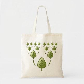 Árboles de familia bolsa de mano