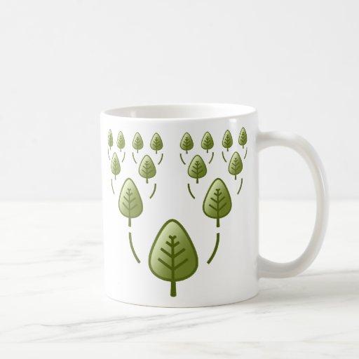 Árboles de familia taza
