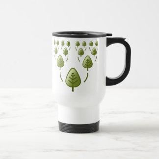 Árboles de familia taza de viaje