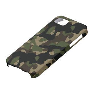 Árboles de Forrest y camuflaje de los militares iPhone 5 Carcasa