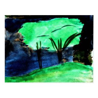 Árboles de Johnna Crider Tarjetas Postales