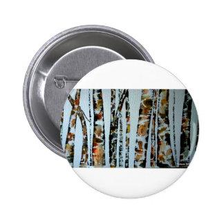 Árboles de la acuarela con color pin