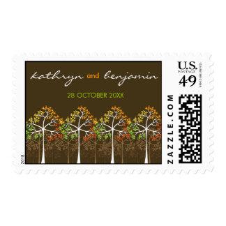 árboles de la caída del otoño del fatfatin que sellos