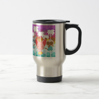 Árboles de la Chan-Palma de Nori Taza De Café