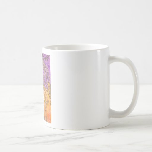 Árboles de la espina del camello taza de café