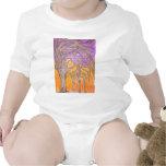 Árboles de la espina del camello traje de bebé