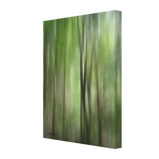 Árboles de la foto de la bella arte de la falta de lienzo envuelto para galerias