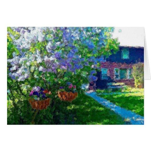 árboles de la lila del lago del sauce felicitaciones