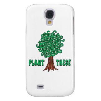 Árboles de la planta