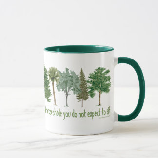 Árboles de la planta taza