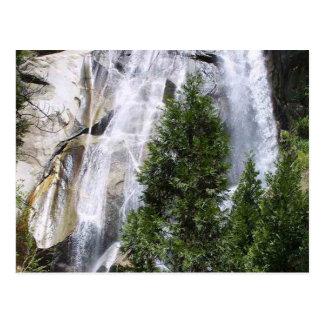 Árboles de las cascadas postales