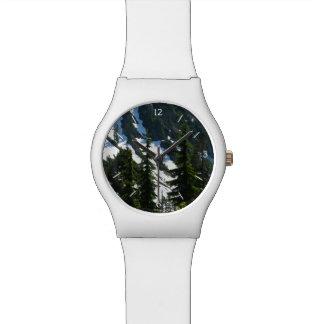 Árboles de los prados del brezo reloj