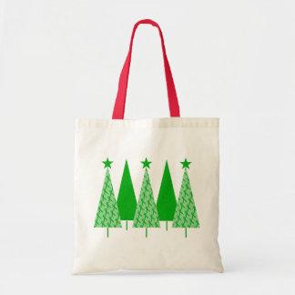 Árboles de navidad - cáncer verde del riñón de la bolsa tela barata