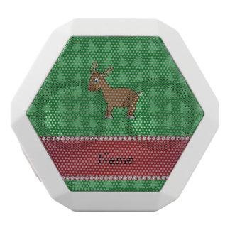 Árboles de navidad conocidos personalizados del altavoces bluetooth blancos boombot REX