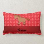Árboles de navidad conocidos personalizados del almohadas