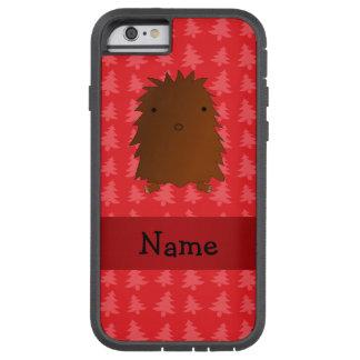 Árboles de navidad conocidos personalizados del funda de iPhone 6 tough xtreme
