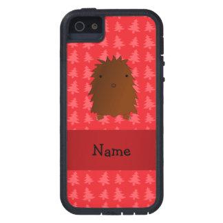 Árboles de navidad conocidos personalizados del iPhone 5 funda
