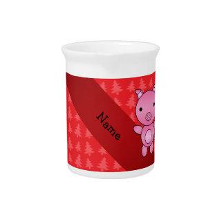 Árboles de navidad conocidos personalizados del jarra