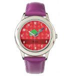 Árboles de navidad conocidos personalizados del relojes